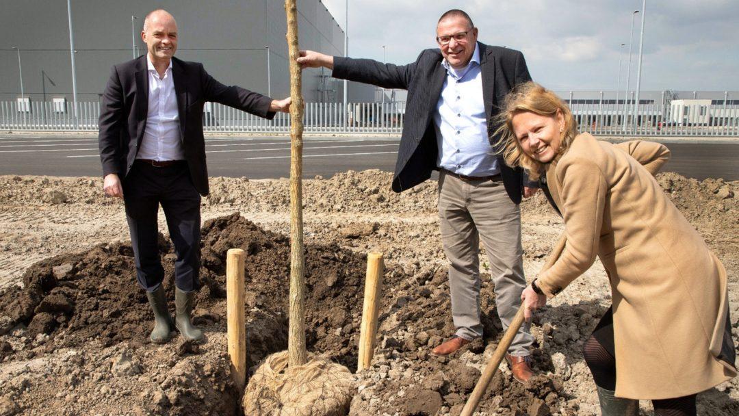400 nieuwe bomen in Lelystad Airport Businesspark