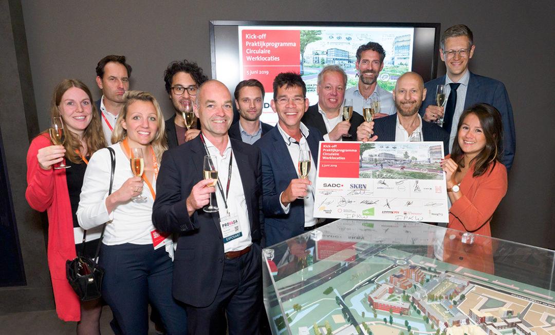 Lelystad Airport Businesspark ondertekent kick off praktijkprogramma circulaire werklocaties