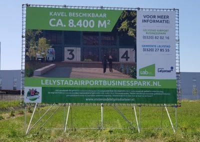 Lelystad Airport Businesspark biedt zicht op beschikbare kavels