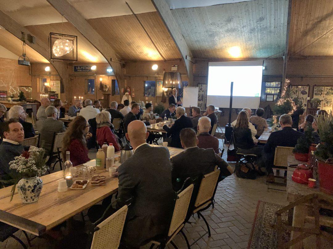 LAB organiseert geslaagd ondernemersontbijt bij Boer Kok