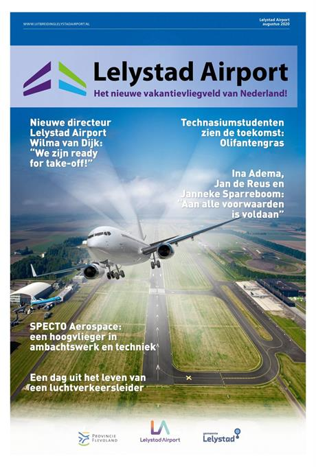 Lelystad Airport Businesspark investeert in duurzame waterketen