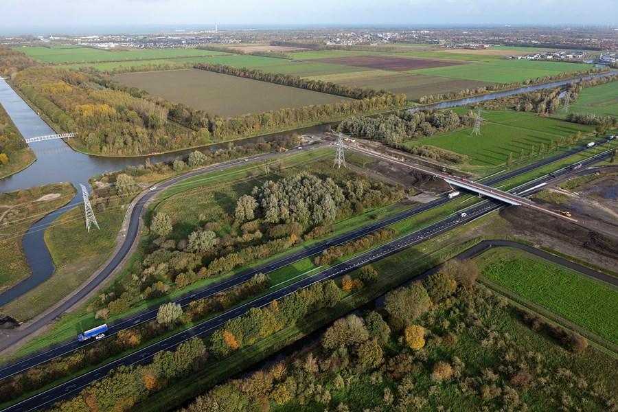 Nieuwe afslag A6 geopend voor verkeer