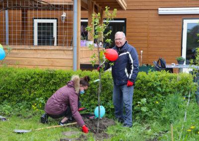 Fruitbomen voor Woonzorg Flevoland